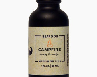 Whiskermen Beard Oil - Campfire