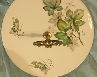 Vintage Limoges Porcelain Cake/Cheese Stand