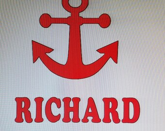 Anchor Personalized Tee