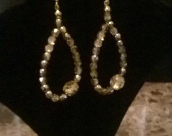 Czech beaded earrings