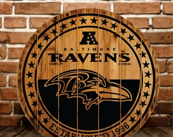 Baltimore Ravens Sign  - Buy One - Get One - Free (Extended thru 2/7/16)