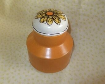Vintage Midwinter Flowersong Storage Jar
