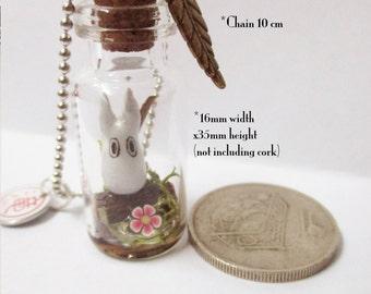 Mini Totoro in Bottle