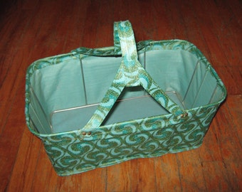 vintage 1960's shopping basket from Woolworth