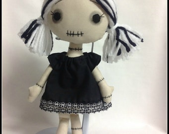 Handmade Cloth Doll - Francine
