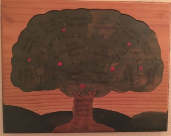 Four Generation Family Tree Puzzle