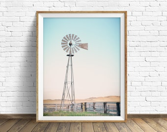 Windmill Wall Art windmill | etsy