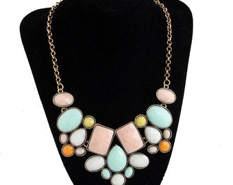Colorful Statement Necklace