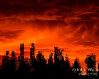 The End of Days Enhanced Digital Photograph