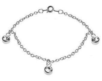3 Gem Bracelet