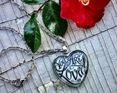 You Are Loved — Original Art, Pendant Necklace