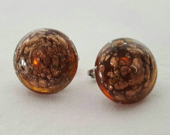 Venetian glass earrings (reserved)