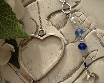 Infinity Blue bookmark