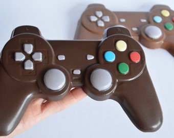 Chocolate Video Game Controller , Chocolate Playstation Controller, Chocolate Game Controller, Chocolate Video Games, Chocolate Teen Gift