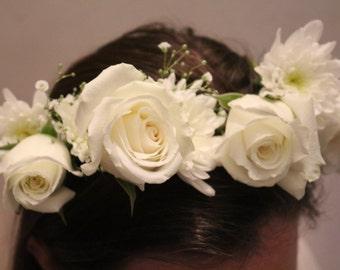 Fresh Flower Crown