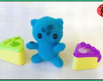 Crochet Bulbsaur Pokemon Doll