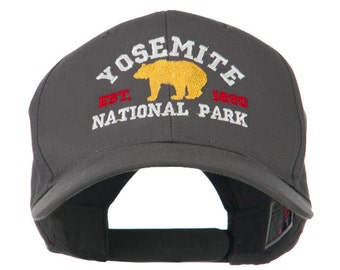 Yosemite National Park Embroidered Cap