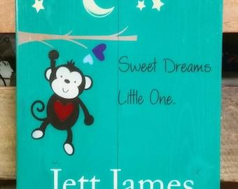 Cute kids bedroom signs