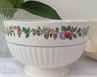 Absolutely Beautiful Antique 'Belmar' by Wedgwood Vintage Sugar Bowl, Dish