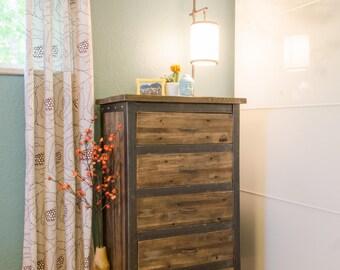 modern rustic reclaimed dresser