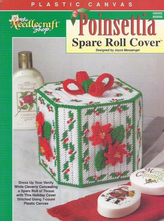 Poinsettia Spare Roll Cover The Needlecraft Shop Christmas