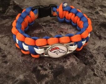 Unofficial NFL Team Paracord Bracelet