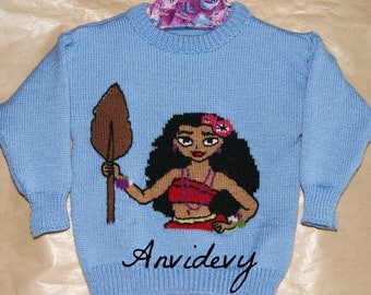 Tahitian girls 4t sweater, exemplary unique