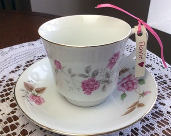 Candle Cup of tea vintage soy wax