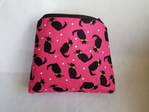 Cat cosmetic, Make up bag, Zipper pouch