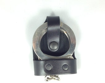 Bikini cuff case with metal belt clip