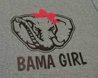 Bama Girl Heat Transfer Vinyl Iron On