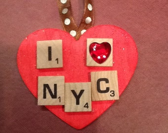I Heart NYC Ornament