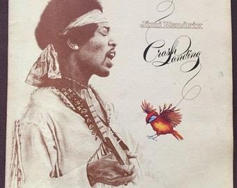 Crash Landing, Jimi Hendrix, Reprise Records, MS 2204, 1975, Vintage Vinyl Record