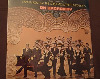 Mint, Diana Ross and The Supremes and The Temptations, On Broadway, Motown, MS699, 1969, Vintage Vinyl Record