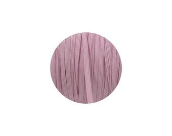 3mm Baby Pink Skinny Headband Elastic - 1 Metre, 5 Metres, Or 50m Full Roll