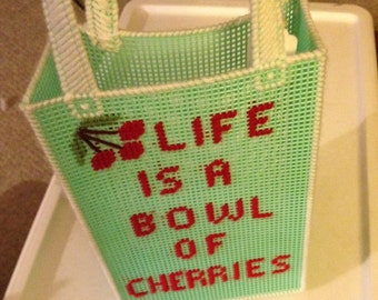 life is a bowl of cherries basket