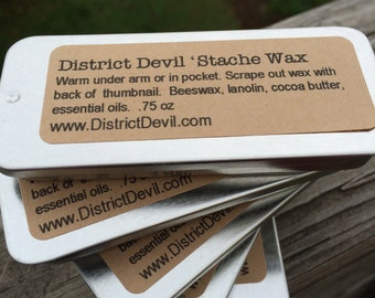 Stache Wax - .75 oz District Devil