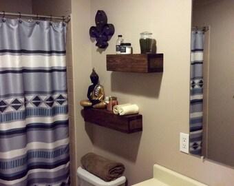 Floating Shelves, Rustic floaing shelves, Rustic shelves, Set of 2, Customizable