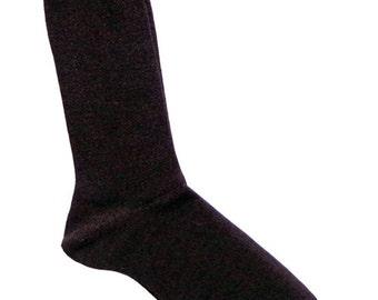Gamboa Alpaca Socks - Dark Brown