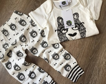 Kids Clothing by Charlie Children's Cool Bear Top and Pant Set FREE SHIPPING