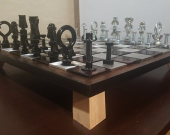 Industrial Chess Set