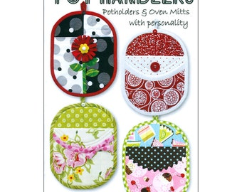 Pot Handlers - Pot holders and Oven Mitts Pattern - Tiger Lily Press
