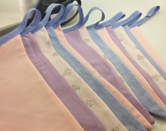 Pastel and Floral Bunting