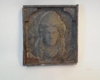 Antique Zinc Face