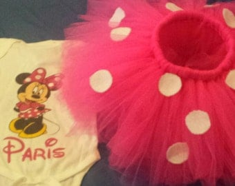 Minnie Mouse Tutu set