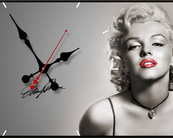 """Wall clock """"Marilyn Monroe"""""""