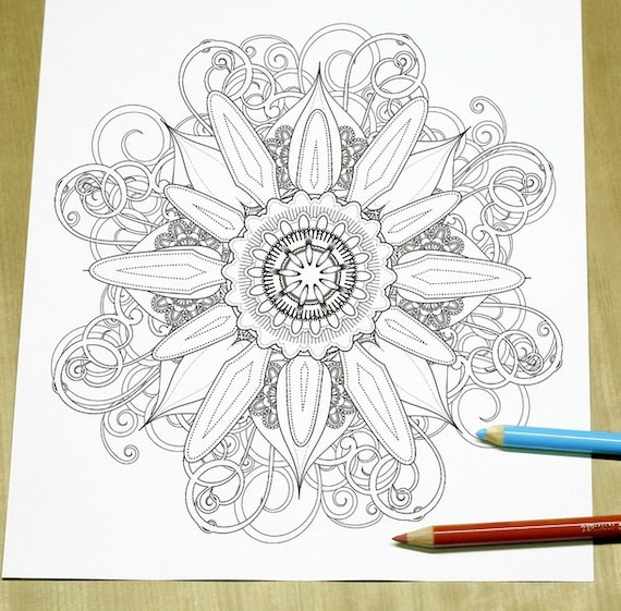 elegant printable adult coloring pages - photo#1