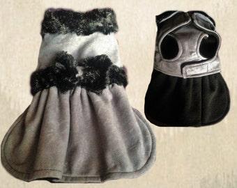 Warm Winter Girlie Dog Coat