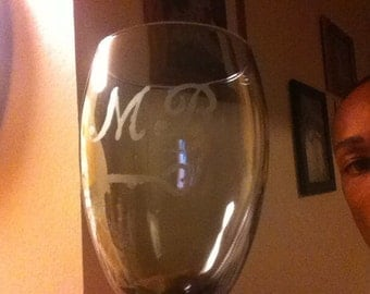 Black all purpose wine glasses