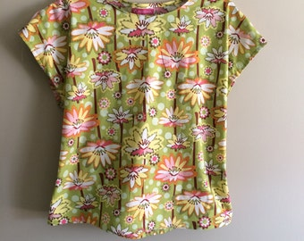 Lime  or Pink color options, Specialtees special needs top, mastectomy, shoulder surgery, breastfeeding